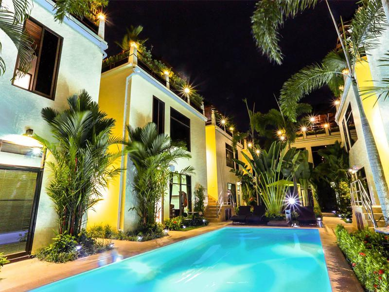 โรงแรม ปาล์ม โอเอซิส บูติค
